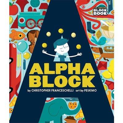 ABRAMS BOOKS ALPHABLOCK BB FRANCESCHELLI
