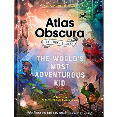 WORKMAN PUBLISHING ATLAS OBSCURA EXPLORER'S GUIDE FOR KIDS HB THURAS