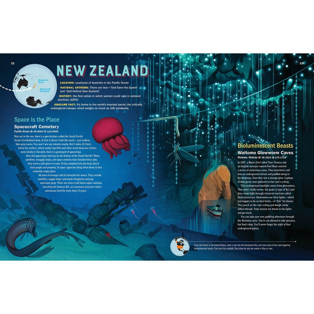 WORKMAN PUBLISHING ATLAS OBSCURA: EXPLORER'S GUIDE FOR THE WORLD'S MOST ADVENTUROUS KID