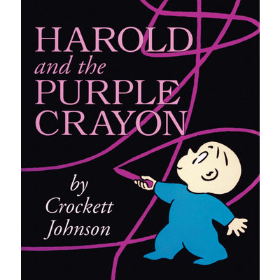 HARPERCOLLINS PUBLISHING HAROLD & PURPLE CRAYON PB JOHNSON