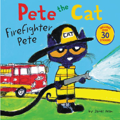 PETE THE CAT FIREFIGHTER PETE PB DEAN