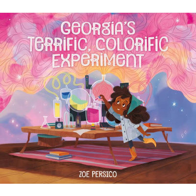 RUNNING PRESS KIDS GEORGIA'S TERRIFIC COLORIFIC EXPERIMENT HB PERSICO
