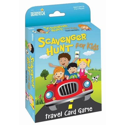 UNIVERSITY GAMES TRAVEL SCAVENGER HUNT FOR KIDS