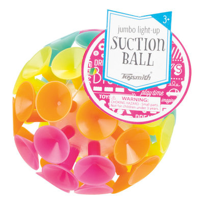 LIGHT UP JUMBO SUCTION BALL