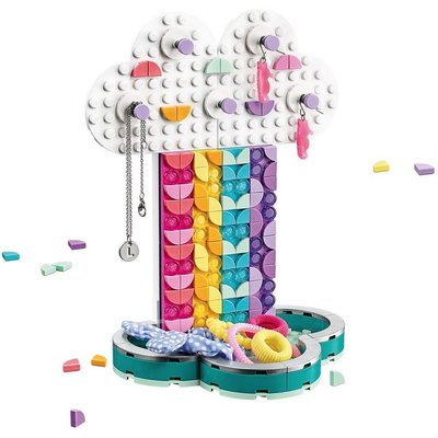 LEGO RAINBOW JEWELRY STAND