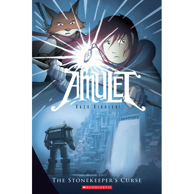 SCHOLASTIC AMULET: THE STONEKEEPER'S CURSE