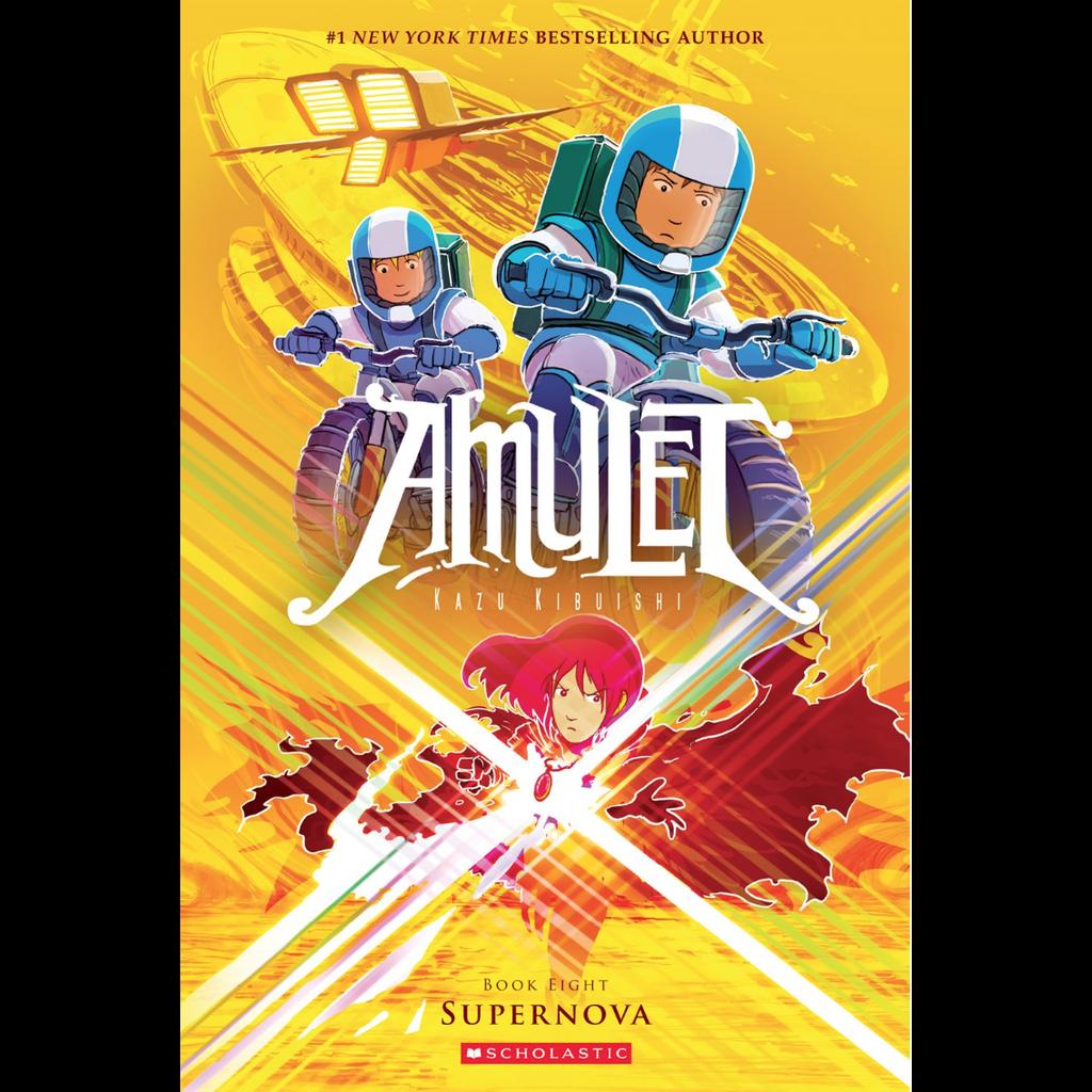 Amulet 8 Supernova Pb Kibuishi The Toy Store