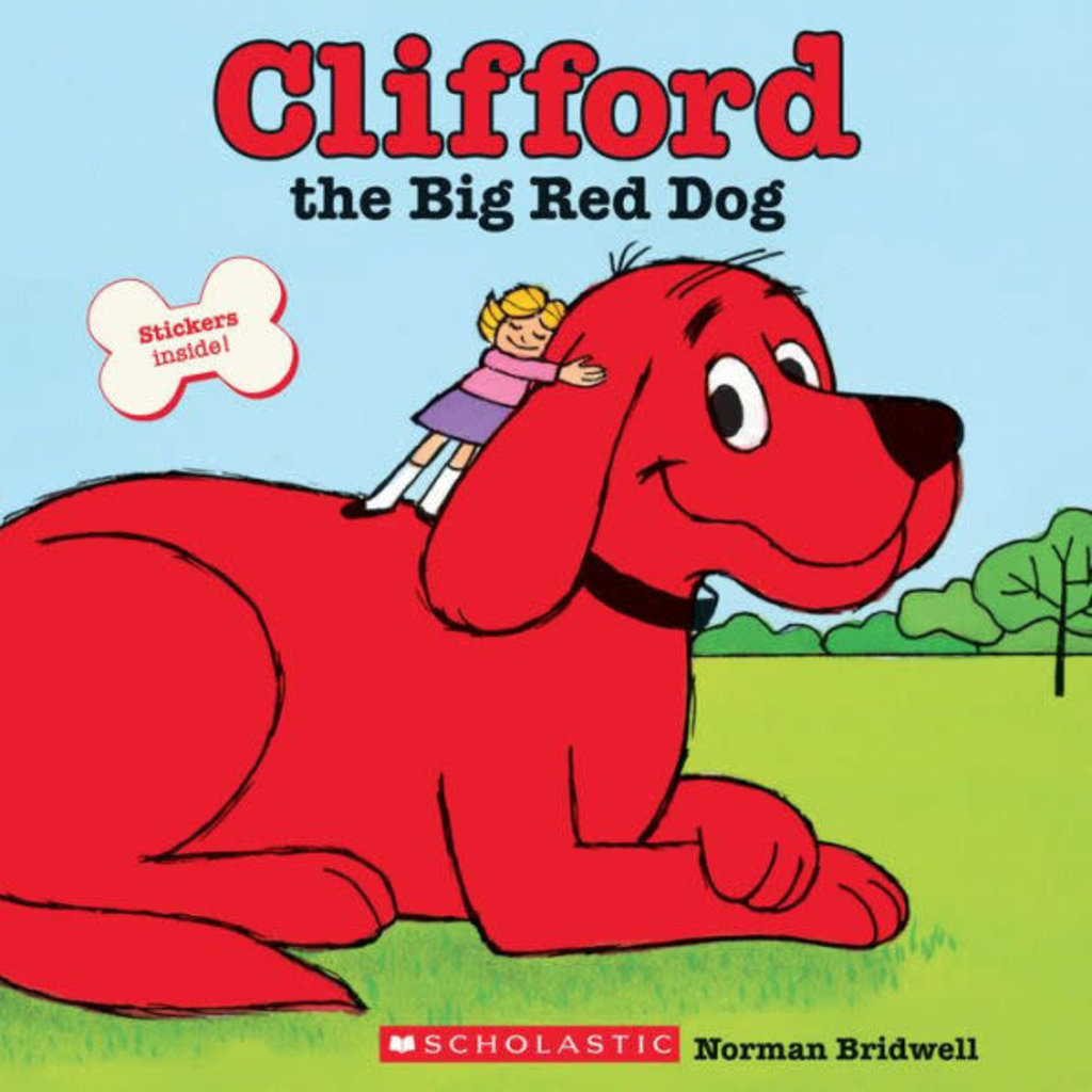 SCHOLASTIC CLIFFORD THE BIG RED DOG PB BRIDWELL