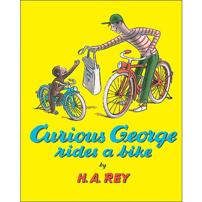 HOUGHTON MIFFLIN CURIOUS GEORGE RIDES A BIKE