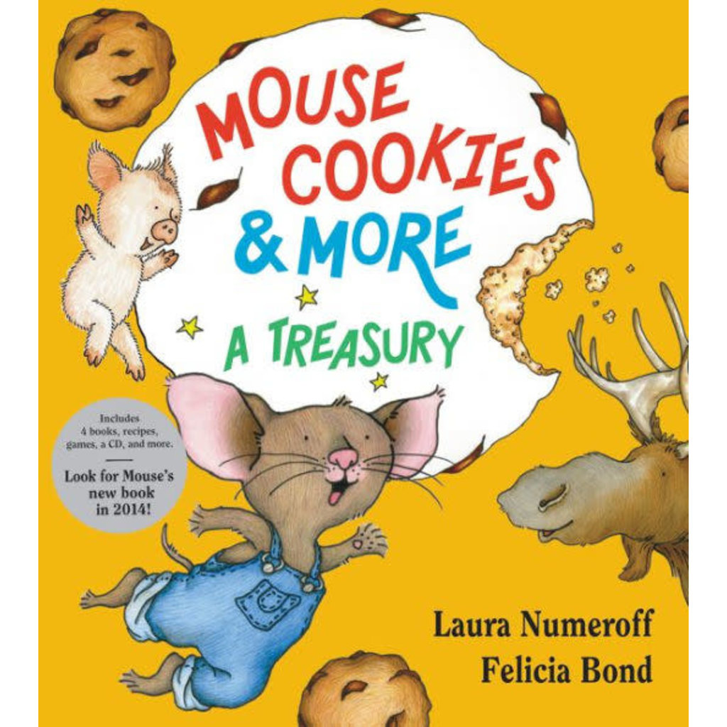 HARPERCOLLINS PUBLISHING IF YOU GIVE A MOUSE COOKIES & MORE COLLECTION HB NUMEROFF