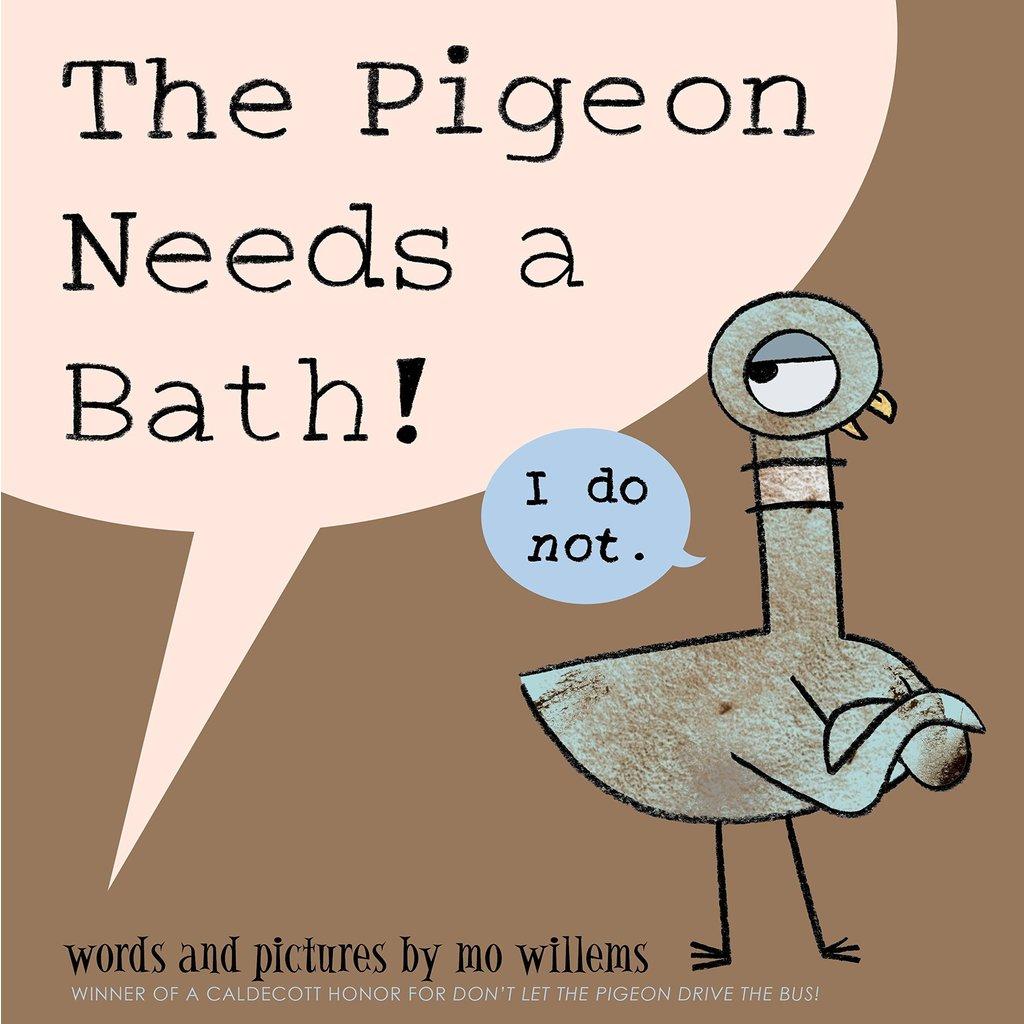 HACHETTE BOOK GROUP PIGEON NEEDS A BATH HB WILLEMS