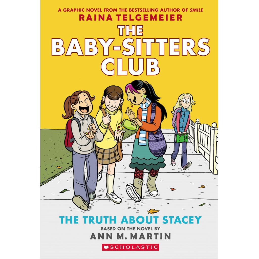 Baby Sitters Club Graphix 2 Truth About Stacey Pb Telgemeier The Toy Store