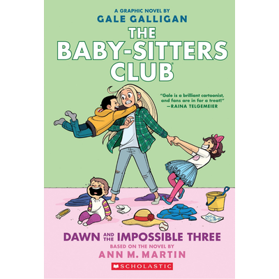 SCHOLASTIC BABY SITTERS CLUB GRAPHIX 5 DAWN AND IMPOSSIBLE THREE PB GALLIGAN
