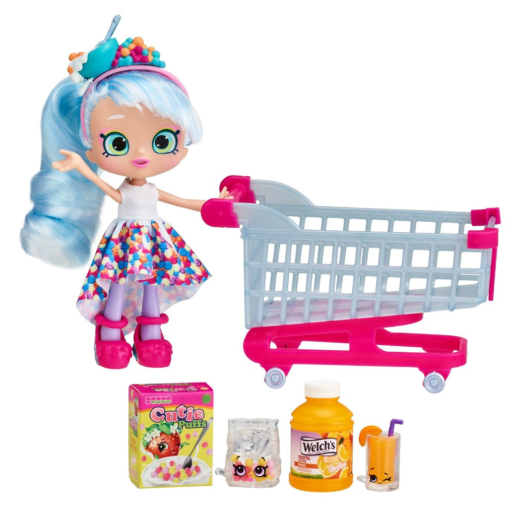 SHOPKINS REAL LITTLES CHRISSY PUFFS SHOP CART*