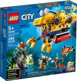 LEGO OCEAN EXPLORATION SUBMARINE