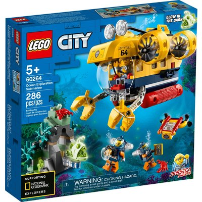 LEGO OCEAN EXPLORATION SUBMARINE