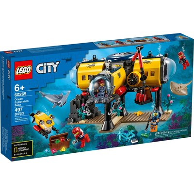 LEGO OCEAN EXPLORATION BASE