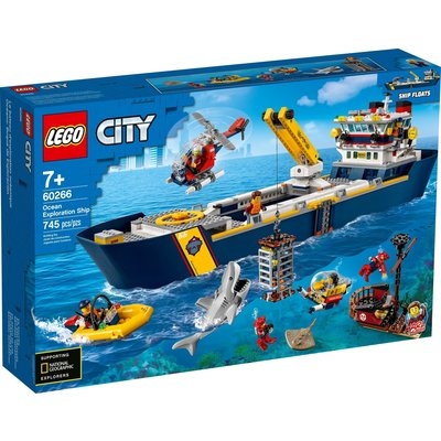 LEGO OCEAN EXPLORATION SHIP