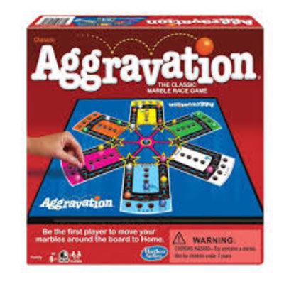 WINNING MOVES AGGRAVATION GAME