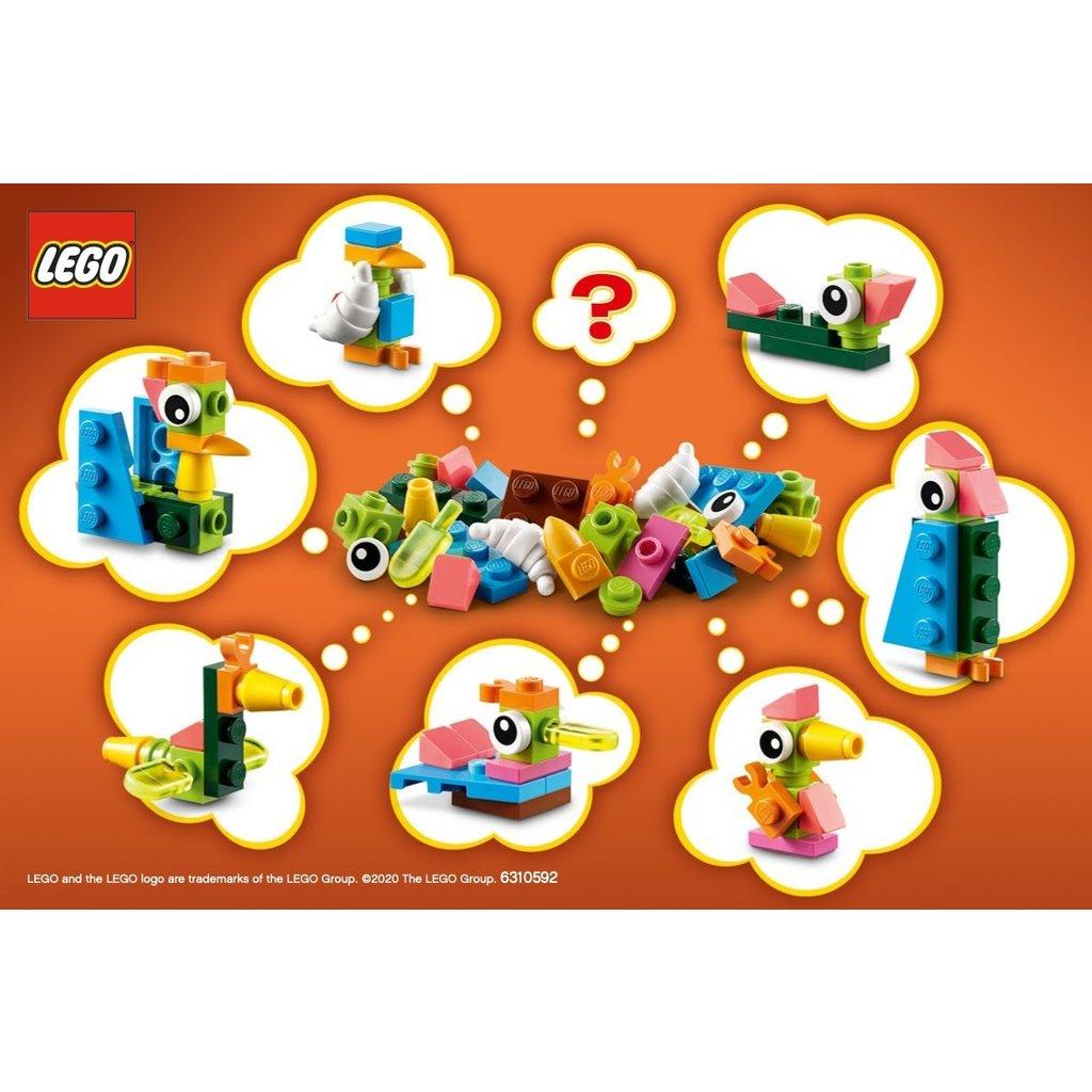 LEGO BUILD YOUR OWN BIRDS