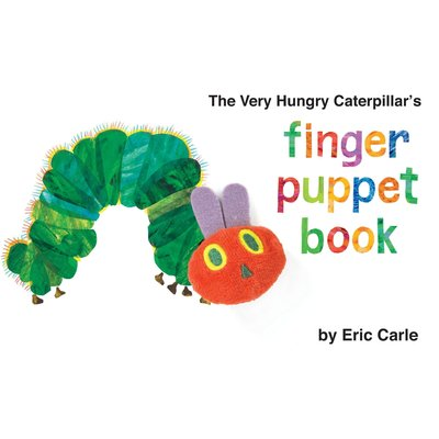 PENGUIN VERY HUNGRY CATERPILLAR BB FINGER PUPPET CARLE