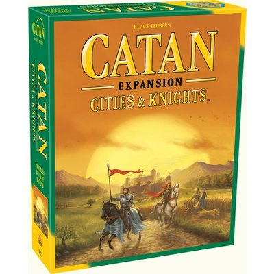 ASMODEE CATAN EXPANSION CITIES & KNIGHTS