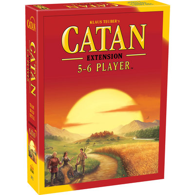 ASMODEE CATAN EXTENSION 5-6 PLAYER