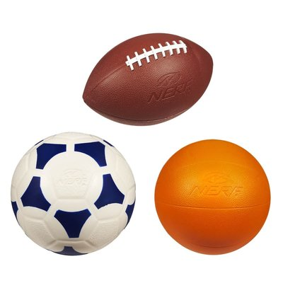 NERF NERF SPORTS BALL MULTIPACK