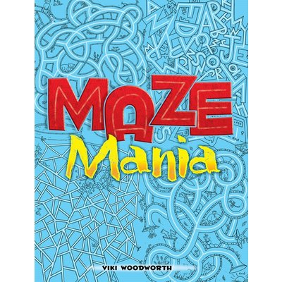 DOVER PUBLICATIONS MAZE MANIA