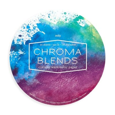 OOLY CHROMA BLENDS CIRCULAR WATERCOLOR PAD