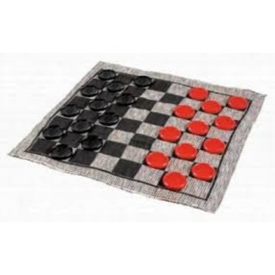 CHANNEL CRAFT & ... JUMBO CHECKER RUG