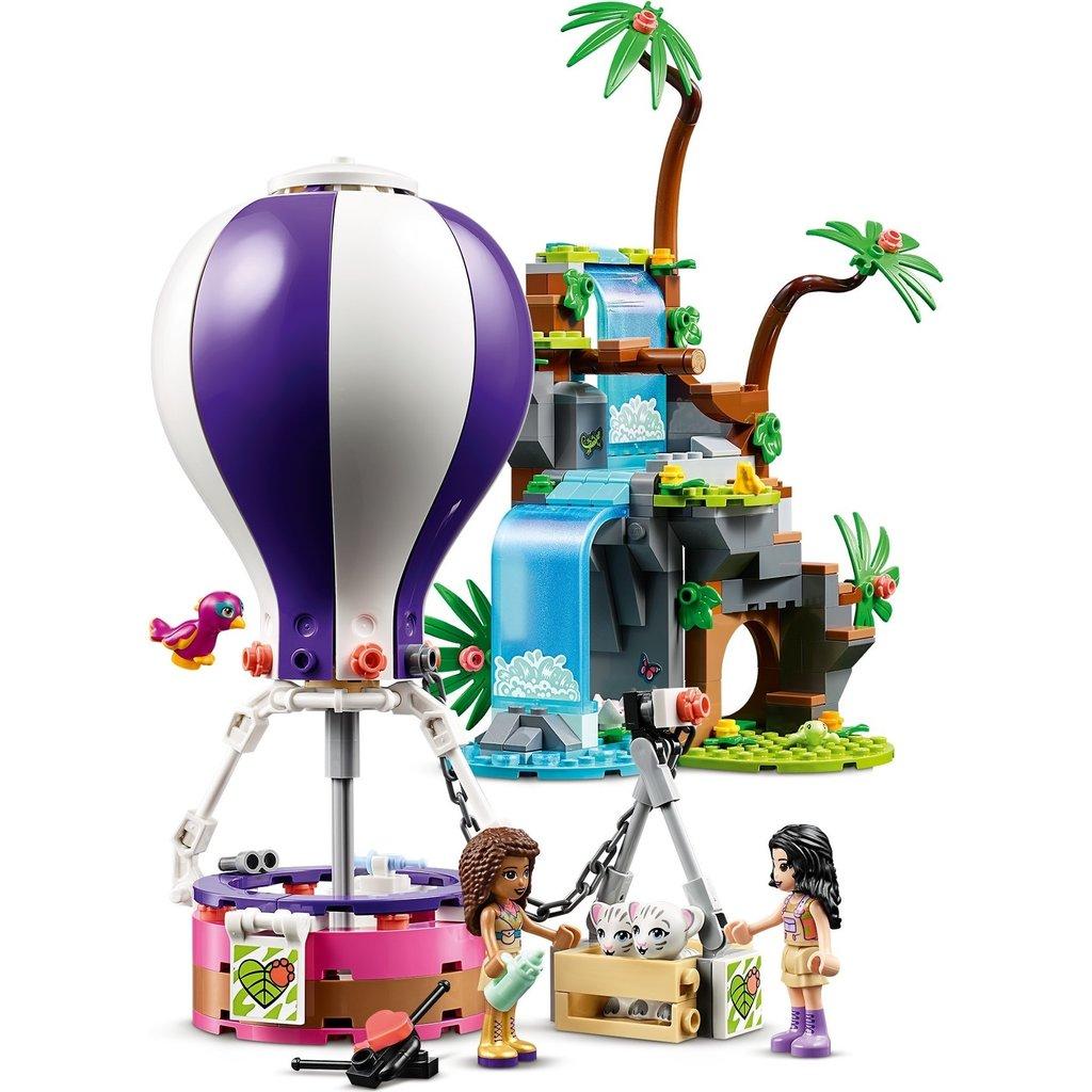 LEGO TIGER HOT AIR BALLOON JUNGLE RESCUE