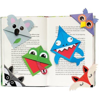 CREATIVITY FOR KIDS CORNER CREATURE BOOKMARKS