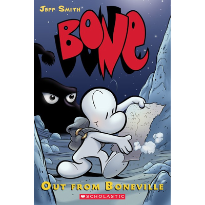 SCHOLASTIC BONE: OUT FROM BONEVILLE PB SMITH