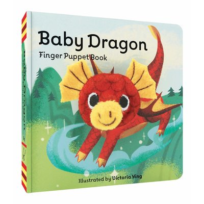 CHRONICLE PUBLISHING BABY DRAGON FINGER PUPPET BOOK BB IMAGE BOOKS