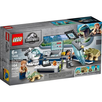 LEGO DR. WU'S LAB: BABY DINOSAURS BREAKOUT