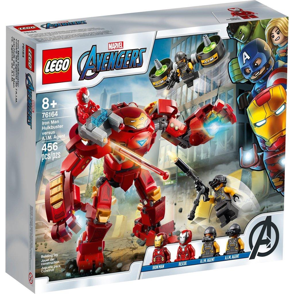 LEGO IRON MAN HULKBUSTER VERSUS A.I.M. AGENT