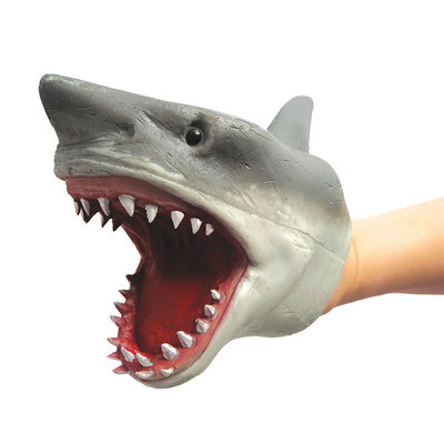 SCHYLLING ASSOCIATES RUBBER HAND PUPPET SHARK