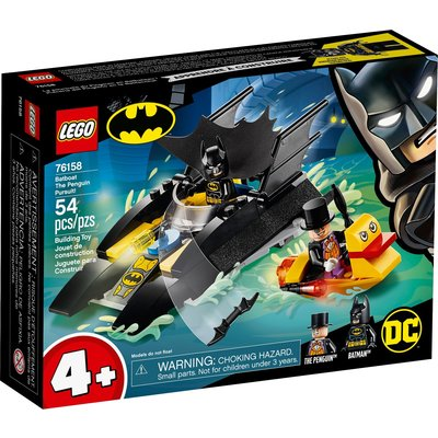 LEGO BATBOAT THE PENGUIN PURSUIT