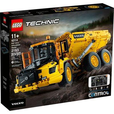 LEGO 6X6 VOLVO ARTICULATED HAULER