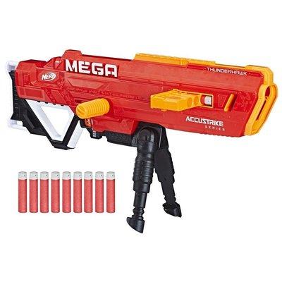 NERF NERF THUNDERHAWK MEGA DART GUN