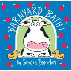 WORKMAN PUBLISHING BARNYARD BATH BOOK BOYNTON