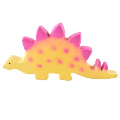 GREAT PRETENDERS BABY STEGOSAURUS DINO TEETHER