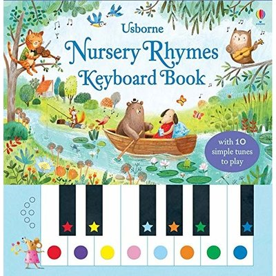 EDC PUBLISHING NURSERY RHYMES KEYBOARD BOOK HC TAPLIN