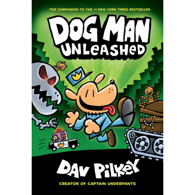 SCHOLASTIC DOG MAN 2 UNLEASHED HB PILKEY