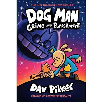 GRAPHIX DOG MAN 9 GRIME & PUNISHMENT HB PILKEY@