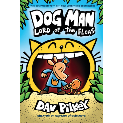 SCHOLASTIC DOG MAN 5 LORD OF THE FLEAS HB PILKEY