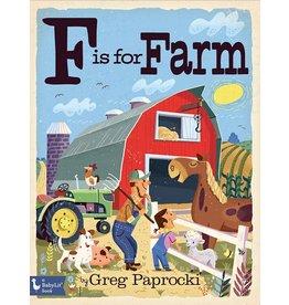 GIBBS SMITH F IS FOR FARM BB PAPROCKI
