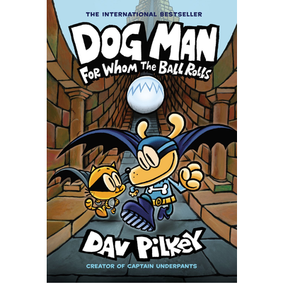 GRAPHIX DOG MAN 7 FOR WHOM THE BALL ROLLS HB PILKEY