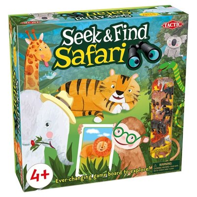 TACTIC USA SEEK & FIND SAFARI